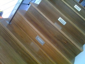 Spotted Gum Solid Tread 6